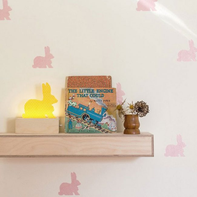 מדבקות קיר ארנבים