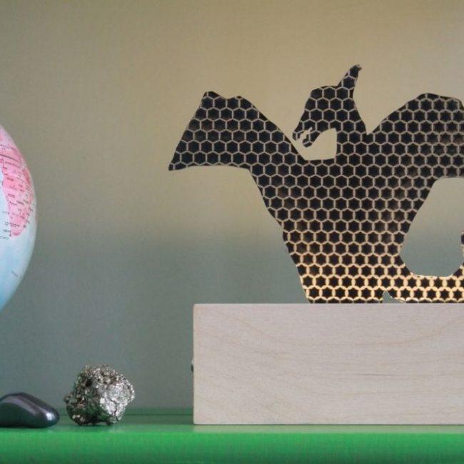 מנורת דינוזאור מעופף