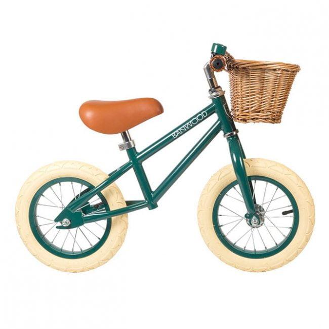 אופני איזון בצבע ירוק