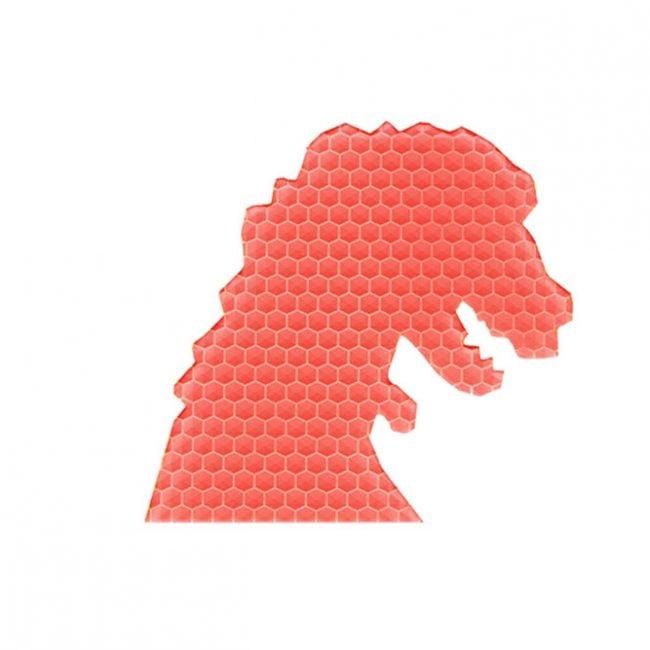דינוזאור טורף ורוד
