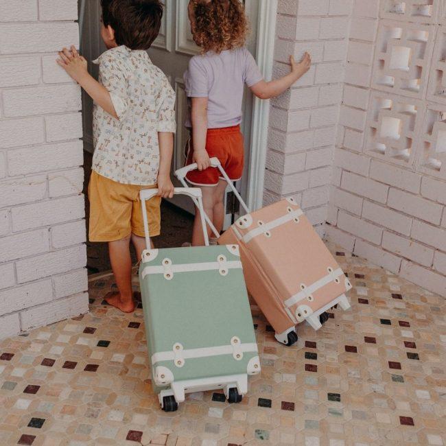 מזוודה בצבע בלאש