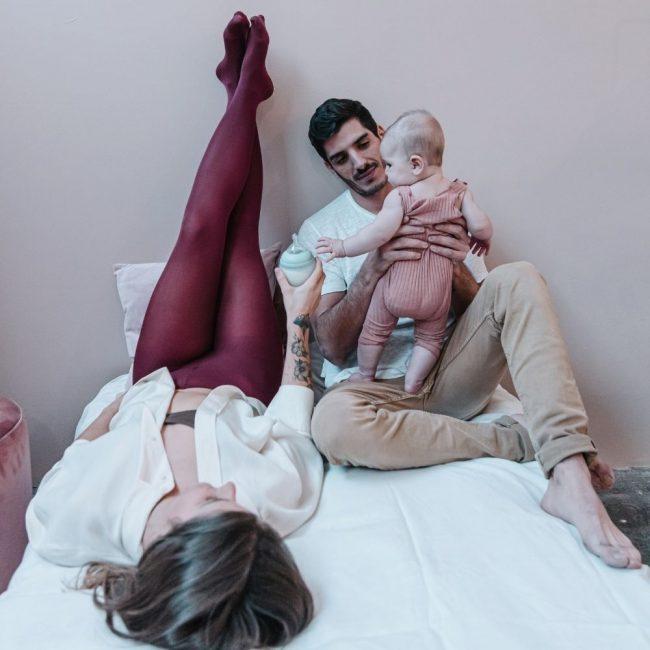 בקבוק לתינוק אלהיי בצבע אייבי גרין