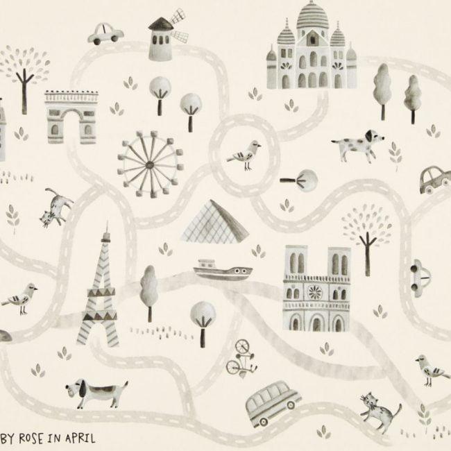 מפת פריז