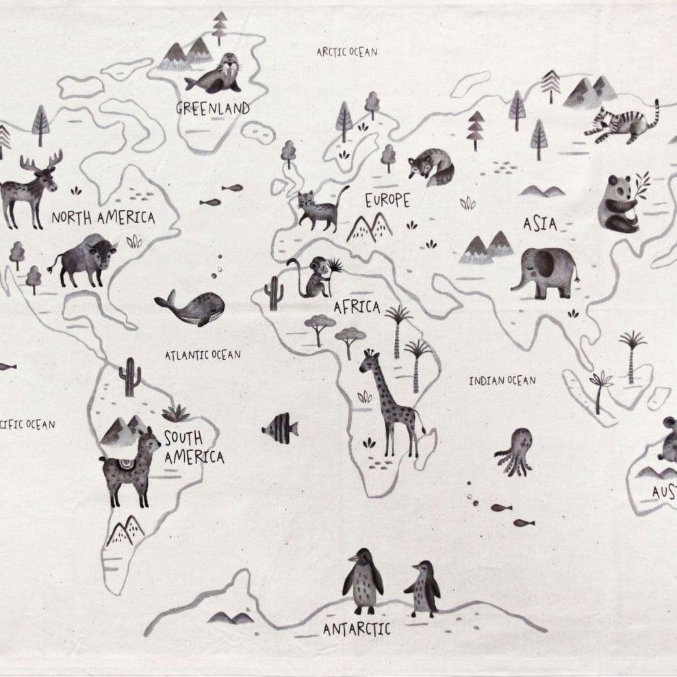 מפות קיר לילדים