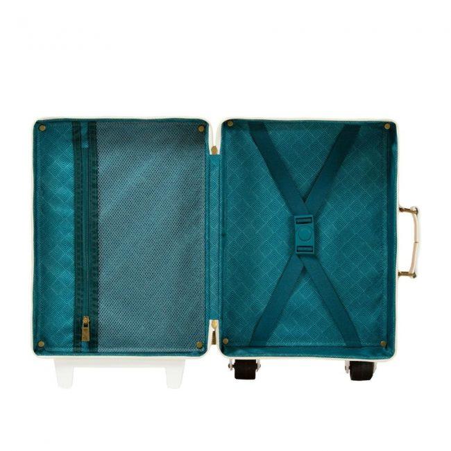 מזוודה ירוקה
