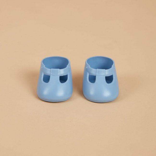 נעליים לבובה בצבע כחול