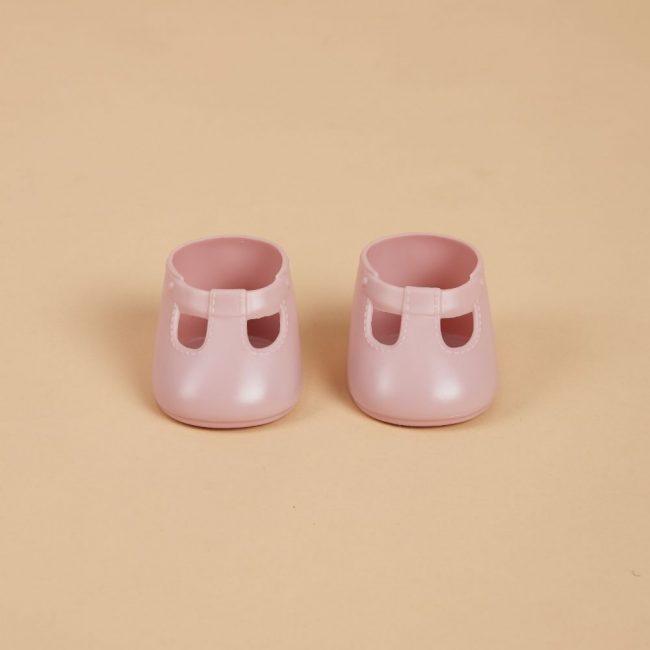 נעליים לבובה בצבע ורוד